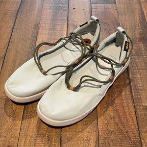 Teva Voya Infinity in Mint Olive Sandal Flats 8